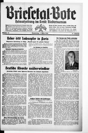 Briesetal-Bote vom 05.03.1942