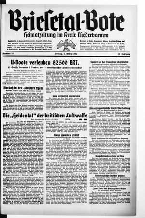 Briesetal-Bote vom 06.03.1942