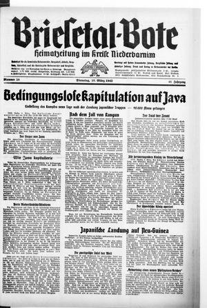 Briesetal-Bote on Mar 10, 1942
