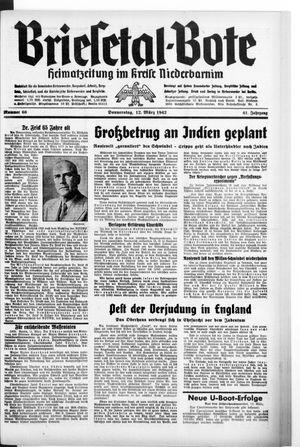 Briesetal-Bote vom 12.03.1942