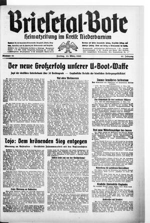 Briesetal-Bote vom 13.03.1942
