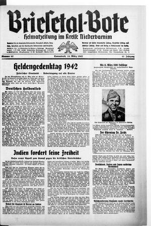 Briesetal-Bote vom 14.03.1942