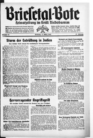 Briesetal-Bote vom 17.03.1942