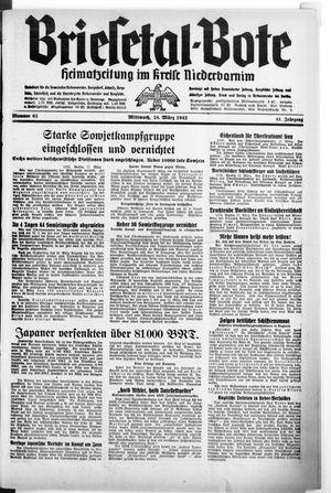 Briesetal-Bote vom 18.03.1942