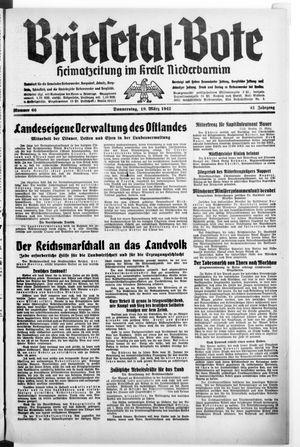Briesetal-Bote vom 19.03.1942