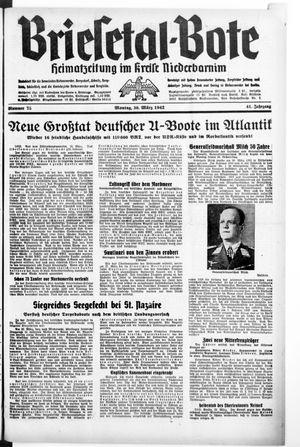 Briesetal-Bote vom 30.03.1942
