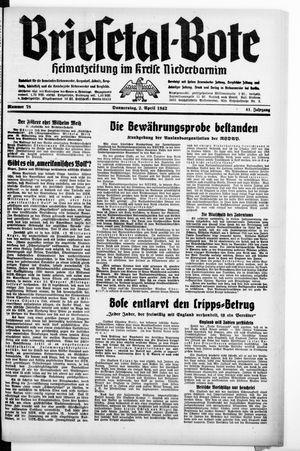 Briesetal-Bote vom 02.04.1942