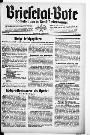 Briesetal-Bote vom 04.04.1942
