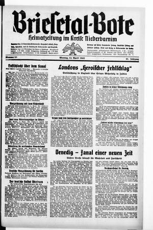 Briesetal-Bote vom 13.04.1942