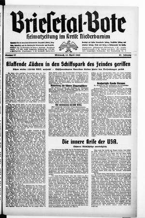Briesetal-Bote vom 15.04.1942