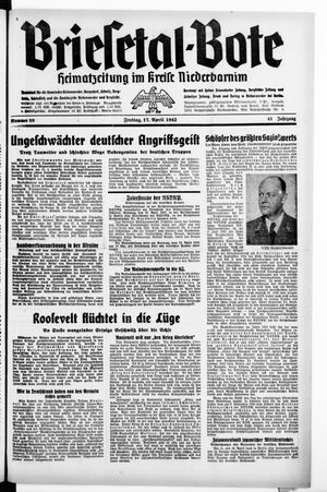 Briesetal-Bote vom 17.04.1942