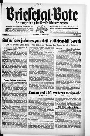 Briesetal-Bote on Apr 22, 1942