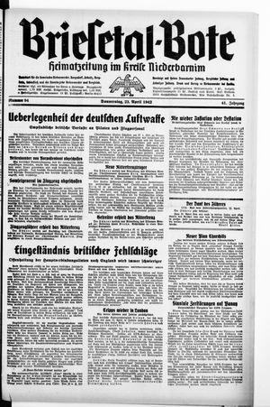 Briesetal-Bote vom 23.04.1942