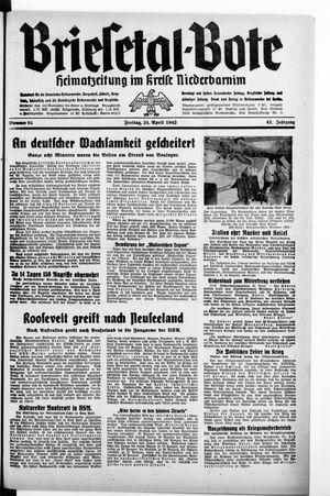 Briesetal-Bote vom 24.04.1942