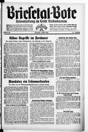 Briesetal-Bote vom 05.05.1942