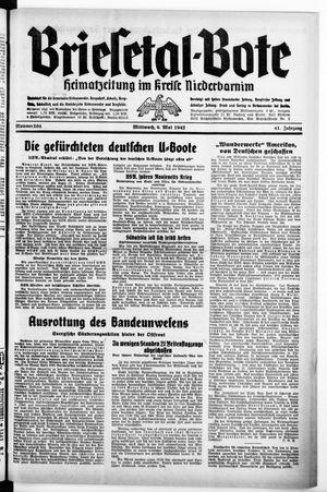 Briesetal-Bote on May 6, 1942