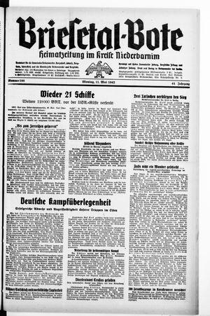 Briesetal-Bote vom 11.05.1942