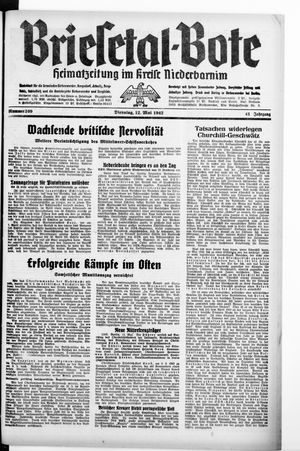 Briesetal-Bote vom 12.05.1942