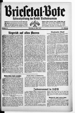 Briesetal-Bote vom 19.05.1942