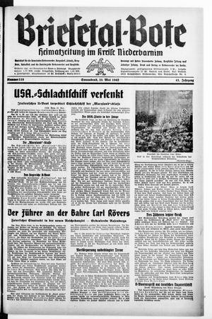 Briesetal-Bote vom 23.05.1942
