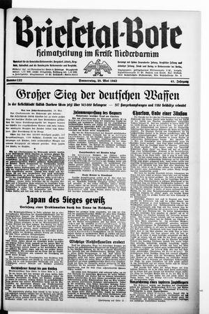 Briesetal-Bote on May 28, 1942