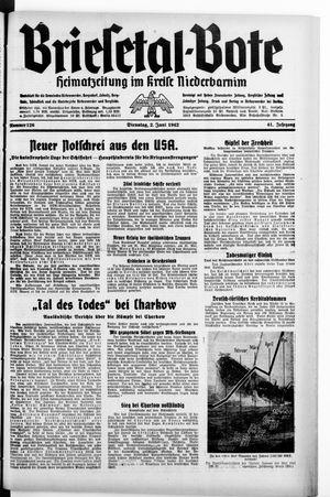 Briesetal-Bote on Jun 2, 1942