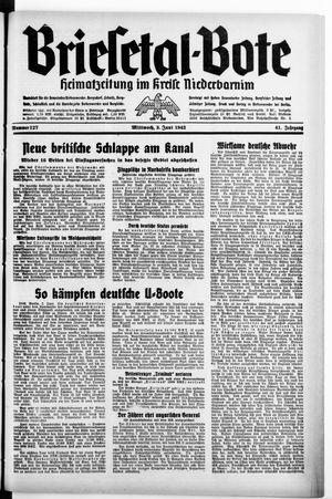 Briesetal-Bote vom 03.06.1942
