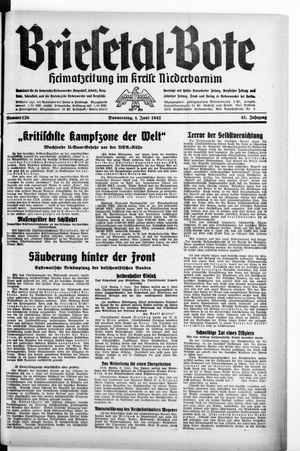 Briesetal-Bote vom 04.06.1942