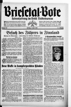 Briesetal-Bote vom 05.06.1942