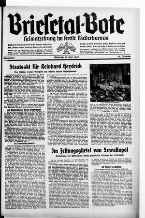 Briesetal-Bote vom 10.06.1942