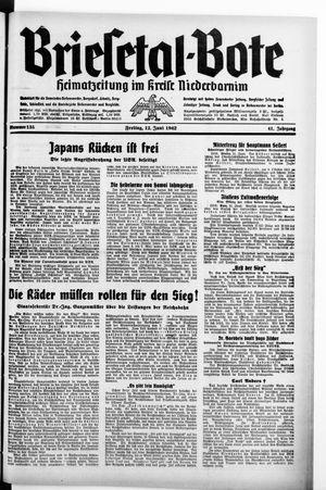 Briesetal-Bote vom 12.06.1942