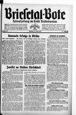 Briesetal-Bote on Jun 15, 1942