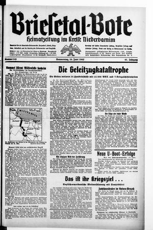 Briesetal-Bote on Jun 18, 1942