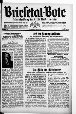 Briesetal-Bote vom 19.06.1942