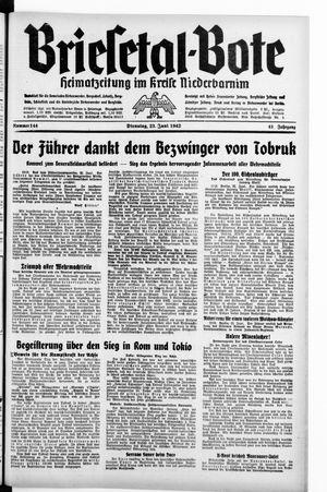 Briesetal-Bote vom 23.06.1942