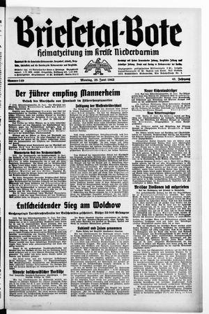 Briesetal-Bote on Jun 29, 1942
