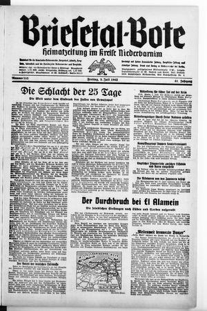 Briesetal-Bote vom 03.07.1942