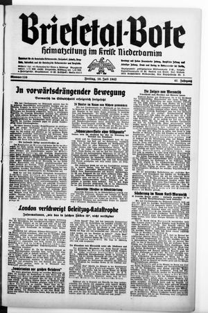 Briesetal-Bote vom 10.07.1942