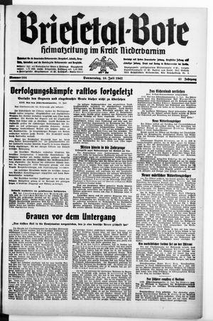 Briesetal-Bote vom 16.07.1942