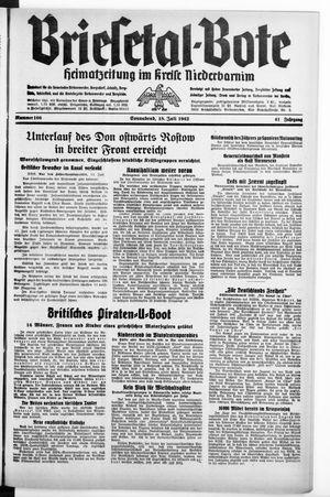 Briesetal-Bote vom 18.07.1942