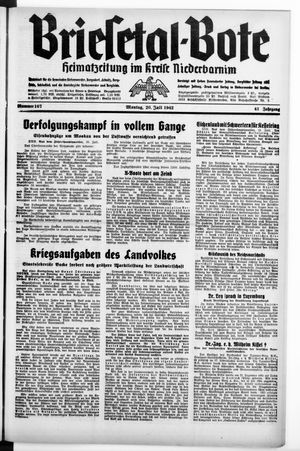 Briesetal-Bote on Jul 20, 1942