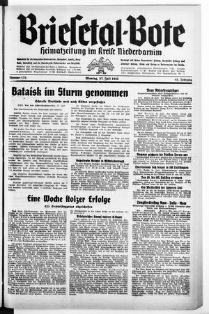 Briesetal-Bote vom 27.07.1942