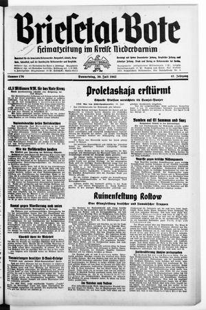 Briesetal-Bote vom 30.07.1942