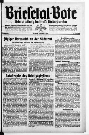 Briesetal-Bote vom 03.08.1942