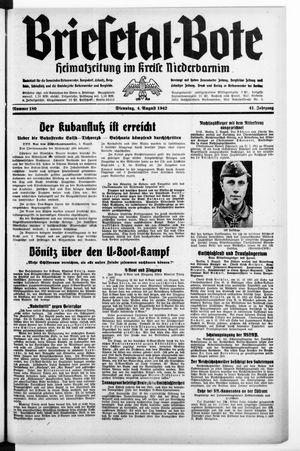 Briesetal-Bote vom 04.08.1942