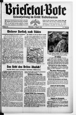 Briesetal-Bote vom 05.08.1942