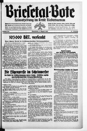 Briesetal-Bote vom 08.08.1942