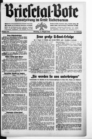 Briesetal-Bote vom 11.08.1942