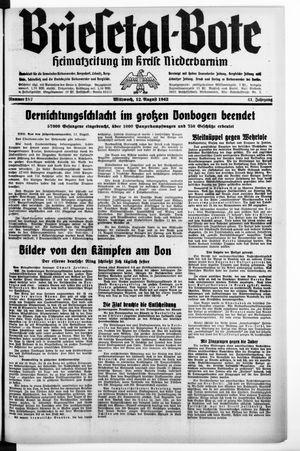 Briesetal-Bote vom 12.08.1942