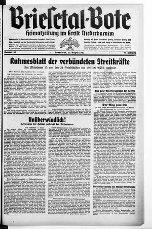Briesetal-Bote vom 15.08.1942